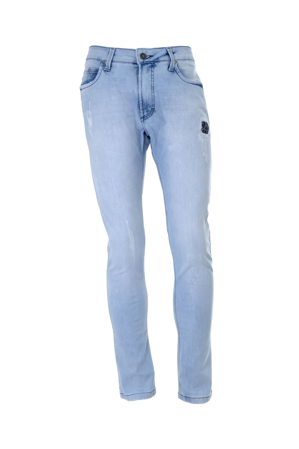 CALÇA JEANS BLUES ALGODAO & ELASTANO 5 POCKETS STONED SKY BLACK