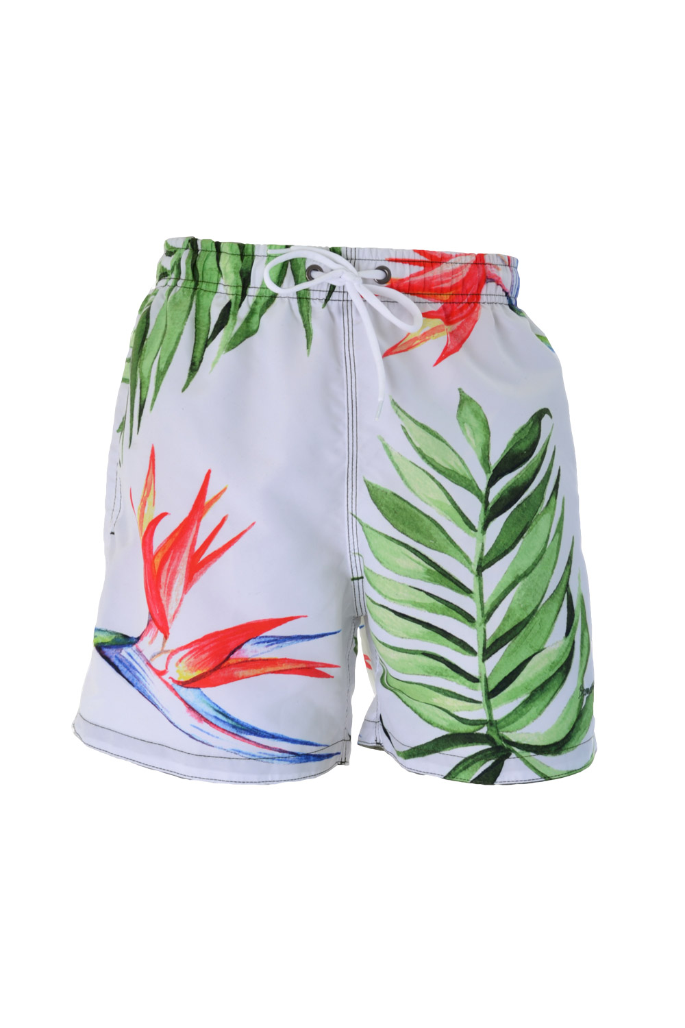 SHORTS MARINE POLIESTER CONCEPTS ESTAMPA FLORAL PV18