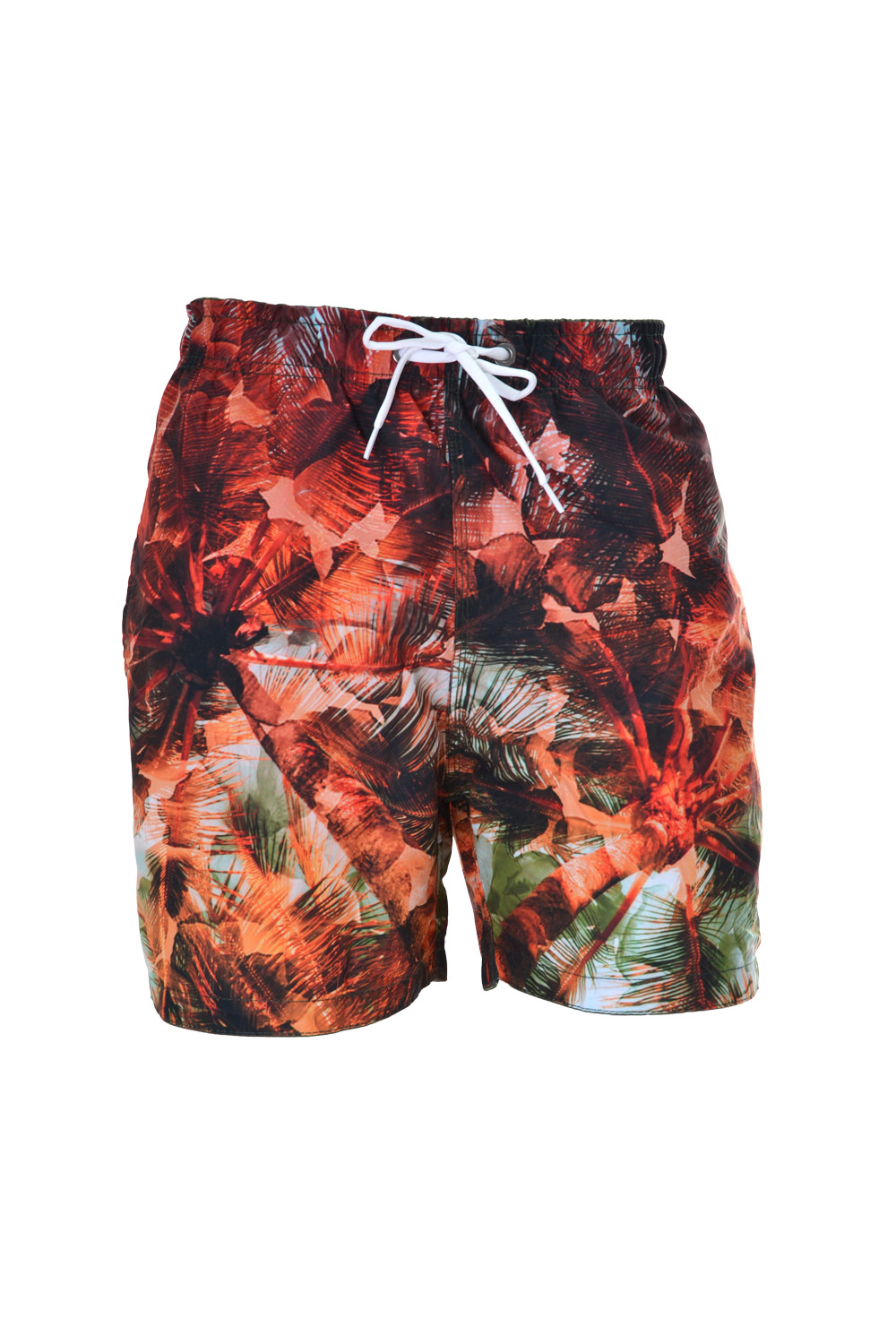 SHORTS MARINE POLIESTER CONCEPTS ESTAMPA MULTICOLOR