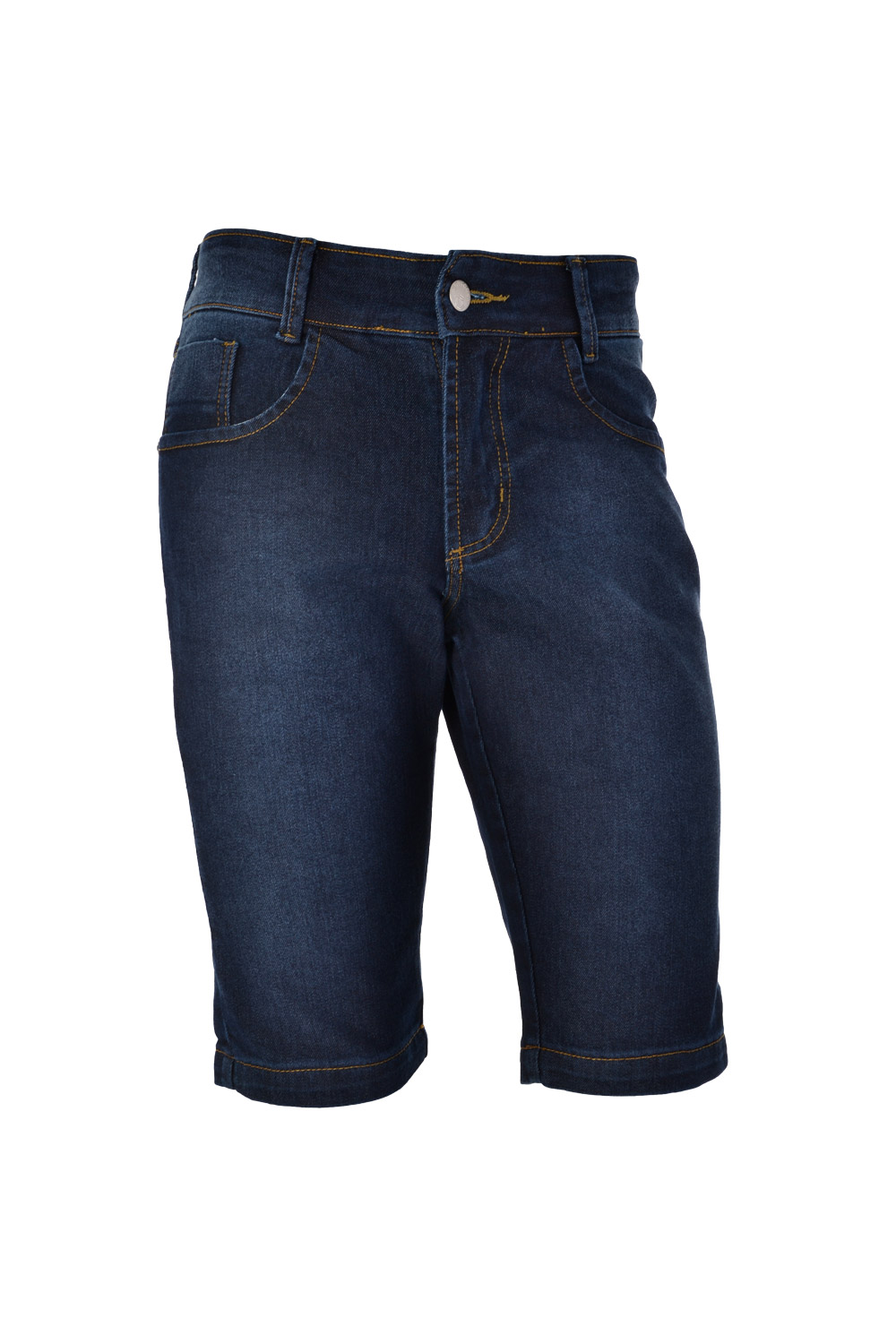 BERMUDA BLUES SLIM POLIALGODAO E ELASTANO STRETCH STONED BLACK BLUE