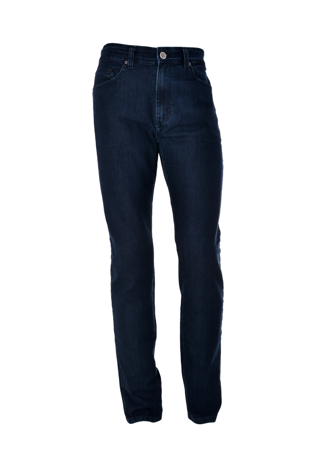 CALÇA JEANS BLUES POLIALGODAO & ELASTANO 5 POCKETS STONED PIN