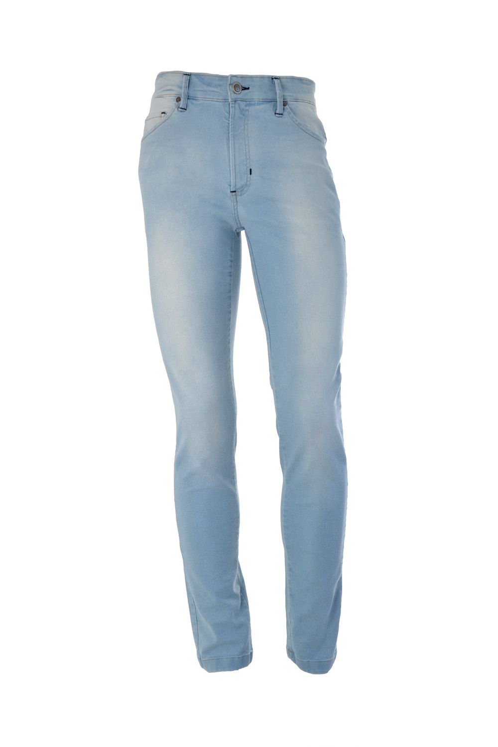 CALÇA JEANS BLUES POLIALGODAO & ELASTANO 5 POCKETS STONED LIGHT