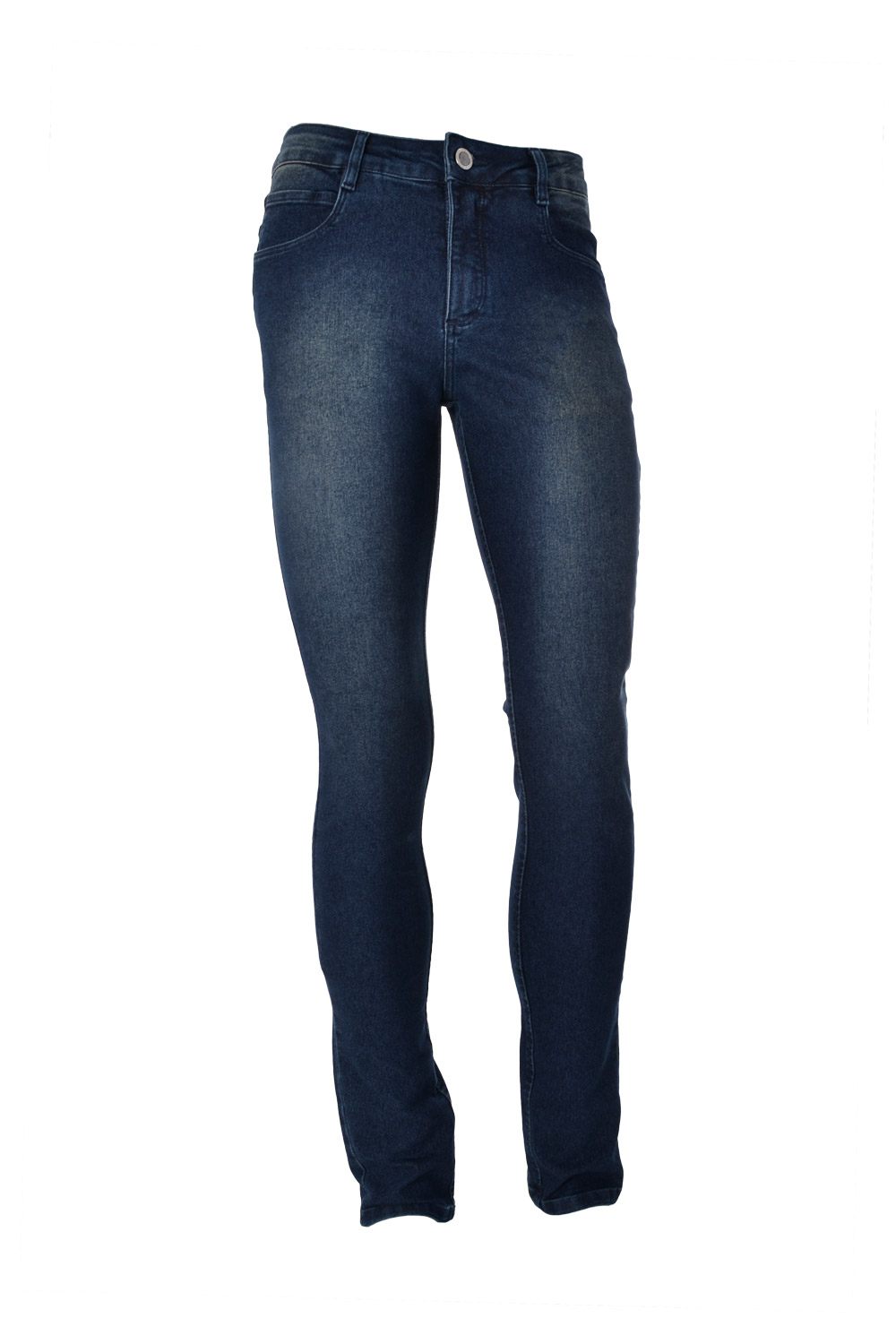 CALÇA JEANS BLUES POLIALGODAO & ELASTANO STRETCH STONED USED