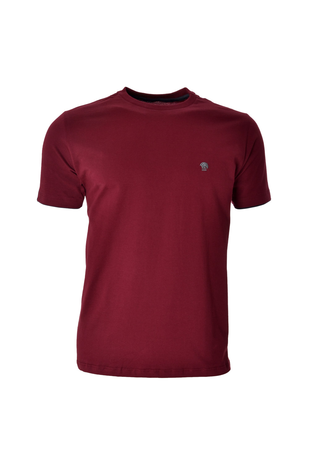 CAMISETA MC BLUES SUPER SLIM ALGODAO GOLA C LISO BORDO