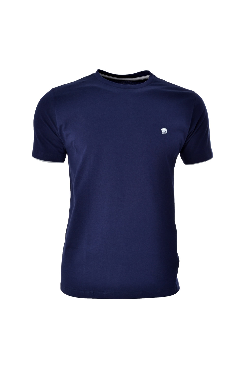 CAMISETA MC BLUES SUPER SLIM ALGODAO COMPOSE - AZUL MARINHO