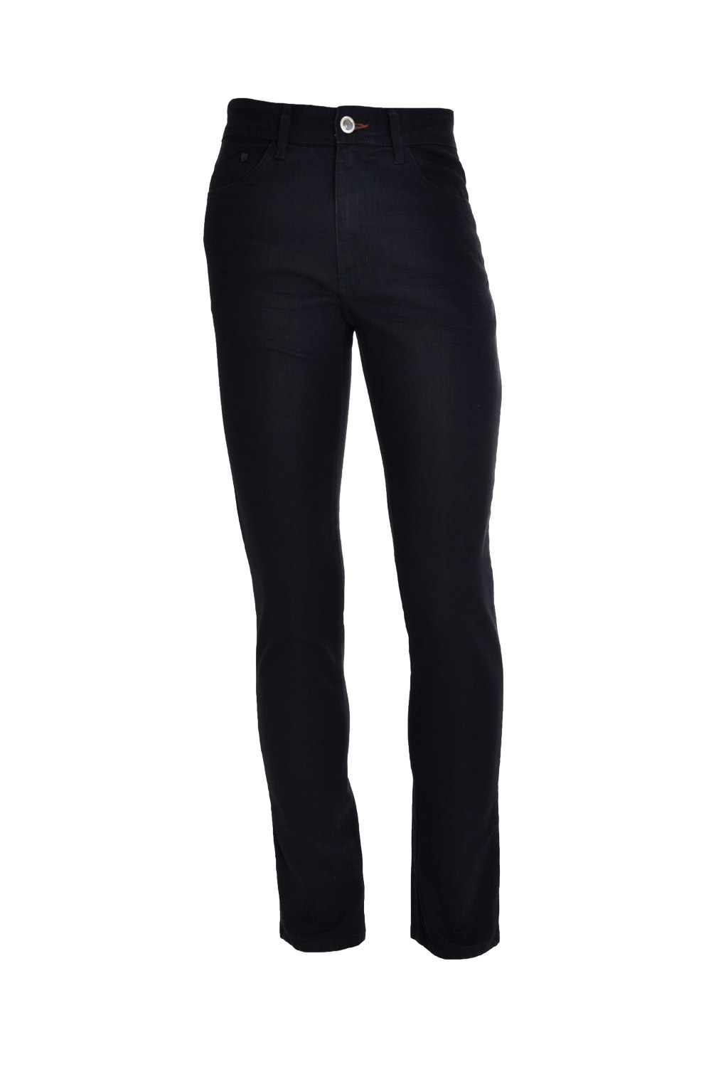 CALÇA JEANS BLUES SLIM POLIALGODAO & ELASTANO STRETCH STONED PRETO