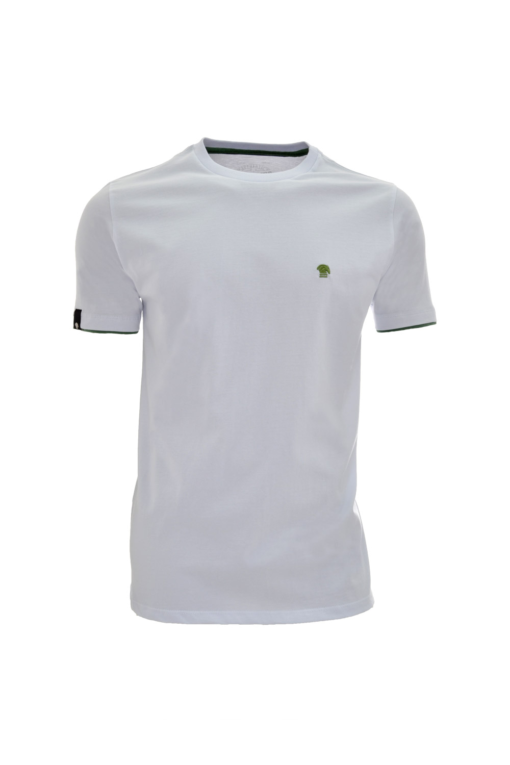 CAMISETA MC BLUES SUPER SLIM ALGODAO GOLA C LISO BRANCO